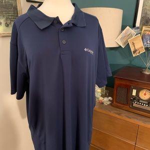 Blue Columbia PFG Shirt